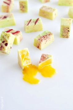 Mango Passion Fruit Bonbons
