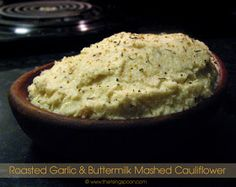The Rising Spoon: Monthly Veg-ucation: Garlicy Buttermilk Mashed Cauliflower