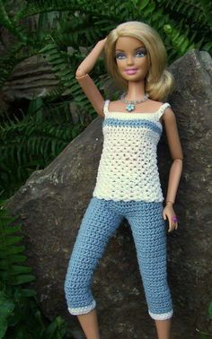 Barbie fashion clothes crochet pattern in stylish strapless dress with good coverage and matching purse and hat !Barbie fashion clothes Más CLICK Visit link above for more infoIf you happen to love dolls as much as I do, you're going to want to dress t Crochet Barbie Patterns, Knitted Doll Patterns, Crochet Doll Dress, Barbie Clothes Patterns, Crochet Barbie Clothes, Doll Clothes Barbie, Knitted Dolls, Clothing Patterns, Barbie Doll