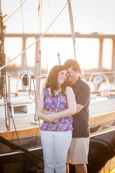 Nautical Marina Engagement // Downtown Charleston Engagement Session // Dana Cubbage Weddings // Charleston SC + Destination Wedding Photographer