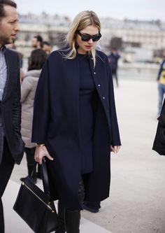 Navy in Paris Elegan