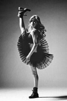 Tough ballerina dreams