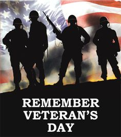happy veterans day to all who served to keep America free and what She is today. God bless you all