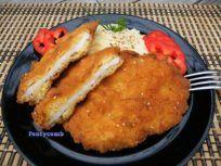 Meggyes pudingos pite recept Koncz Andrea konyhájából - Receptneked.hu French Toast, Bacon, Meat, Chicken, Breakfast, Recipes, Food, Morning Coffee, Essen
