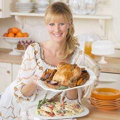 Sandra Lee Recipes | Sandra Lee Turkey Recipe - Celebrity Chef Holiday Recipes - Delish.com