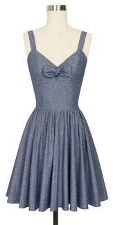Trashy Diva Hottie Mini Dress cg-d4041cl-bluechambray