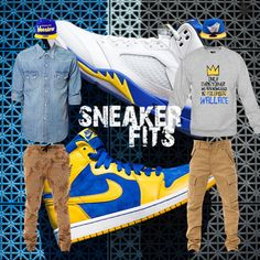 """What To Wear With The Air Jordan 1 """"Laney"""" - SneakerFits"""