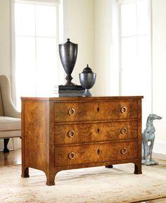 Three Drawer Walnut Commode Chests Modern History