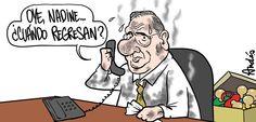 El trazo de Andrés Edery sobre el estado actual del Premier Oscar Valdes...