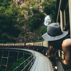 #delíciasbásicas da vida: sentir o vento pela janela do trem!