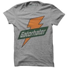 Gator Hater T-Shirt-Multiple Colors and Styles-- Is It football season yet?