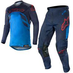2019 ALPINESTARS RACER SUPERMATIC ORANGE MX Motocross Combo CROSS pantaloni jersey
