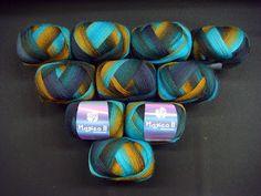 "New colours Lana Grossa ""Magico""  3513"