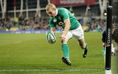 Keith Earls scores the winning try in Ireland's win over Australia in November 2016 Talking Points, Guinness, Keith Earls, Rugby, Ireland, Australia, Football, Scores, World