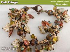 Fall Fringe Bracelet - via @Craftsy