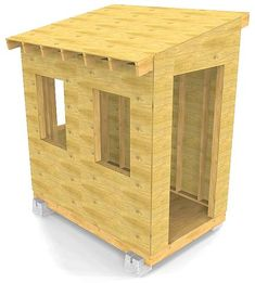 From setting the foundation to installing the roof, this backyard shed guide will aid you in building your own garden storage solution. Backyard Storage Sheds, Building A Storage Shed, Storage Shed Plans, Backyard Sheds, Outdoor Storage, Wood Shed Plans, Diy Shed Plans, Small Outdoor Shed, Shed Construction
