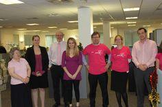 Ashfords' wear pink day!
