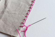 6 Pontos de Costura à Mão Passo a Passo