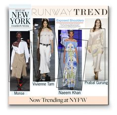 """""""#NYFW Runway Trend 
