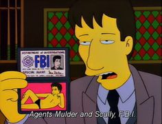 The Simpsons - The Springfield Files