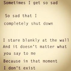 Sadness Depression
