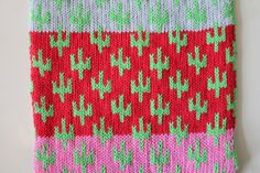 ALL Knitwear cactus pattern