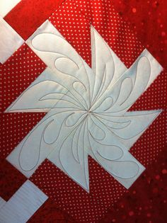 .Free motion quilting