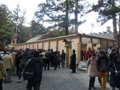 Ise Shrine (Ise Jingu), Japan http://www.cheapojapan.com/pure-beautiful-shrines-of-ise-day-1/ #shrine #japan #travel #holiday #伊勢神宮 #伊勢