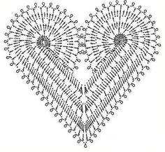 Coeurs au crochet