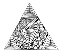 Threezee – New tangle developed by the CZT crowd -You can find Zen doodle and more on our website.Threezee – New tangle developed by the CZT crowd - Doodle Art Drawing, Zentangle Drawings, Art Drawings Sketches, Doodles Zentangles, Simple Art Drawings, Pencil Drawings, Art Zen, Zantangle Art, Dibujos Zentangle Art