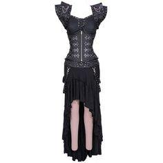 Gothic Underkeeper Corset Dress