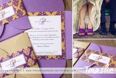 Tinashe wedding stationery: D+P / 12.  www.tinashe.si / www.tinashe-wedding-invitations.com