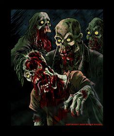 Bloody Weirdos by BryanBaugh.deviantart.com on @deviantART