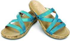 I love strappy sandals! Summer sandals from @Crocs Shoes Shoes Shoes Shoes Shoes #shapemagazine #ebwstyle
