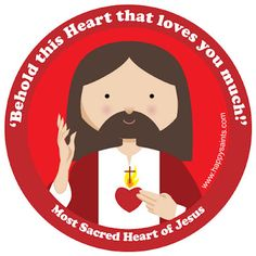 Most Sacred Heart of Jesus love happy saints!