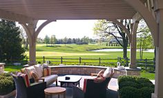 Golf course resorts