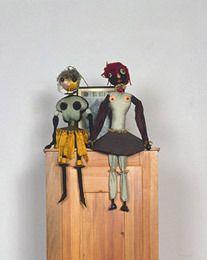 Dada Puppen (Dada Dolls), 1916 Hannah Hoch