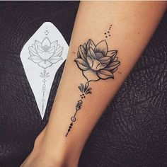 tattoos for women small ribs & tattoos for women small . tattoos for women small meaningful . tattoos for women small unique . tattoos for women small ribs . tattoos for wo Flower Leg Tattoos, Tattoos For Women Flowers, Foot Tattoos For Women, Tattoo Flowers, Leg Tattoos Small, Back Leg Tattoos, Simple Leg Tattoos, Flower Tattoo Women, Calf Tattoo Women