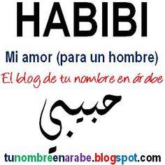 Habibi, Maktub, Saludar y Despedirse en Arabe - TU NOMBRE EN ÁRABE