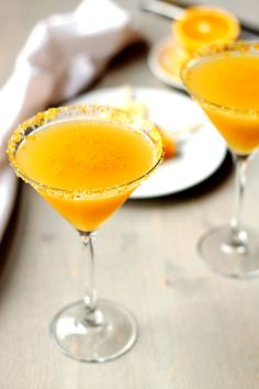 Orange Creamcicle Martini | Cooks with Cocktails