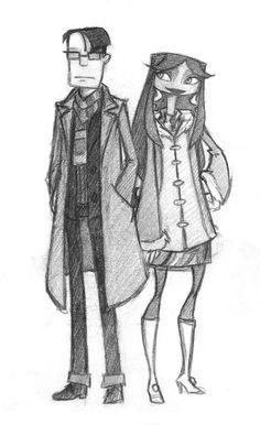 Sasha and Milla