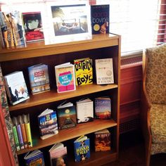 Check out our road trip display in our teen space!