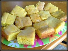 Quick and Easy Lemon Brownies {3 ingredients}...Delicious!