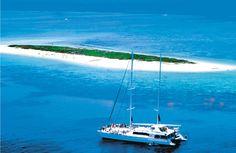 Austalia ~ Michaelmas Cay, Great Barrier Reef  Vessel, 'Ocean Spirit' ~ My first scuba dive!