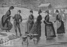 §§§ : Victorian skating fashion : 1880s