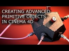 Creating complex primitive objects in Cinema 4D [Modelling tutorial] - YouTube