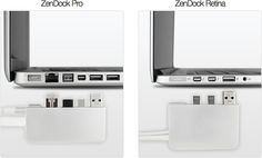 ZenDock: Manage Your Macbook Cables With A Single Dock