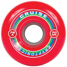 Kryptonics Cruise - Red - 70mm 78a