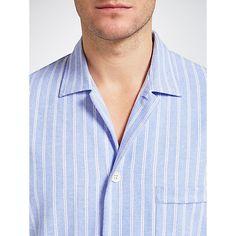 94e5725e983 Buy Derek Rose Brushed Cotton Stripe Nightshirt