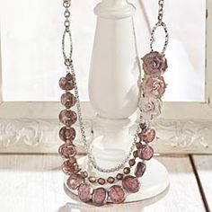 Kristine's Limited Edition Vintage Bead Necklace